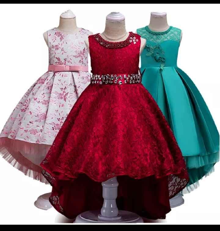 Vestidos das daminhas - 6