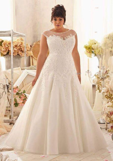Vestidos de noiva - plus size - 4