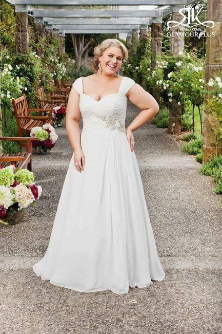 Vestidos de noiva - plus size - 5