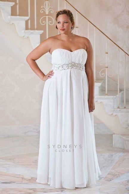 Vestidos de noiva - plus size - 9