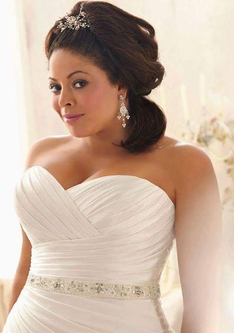 Vestidos de noiva - plus size - 10