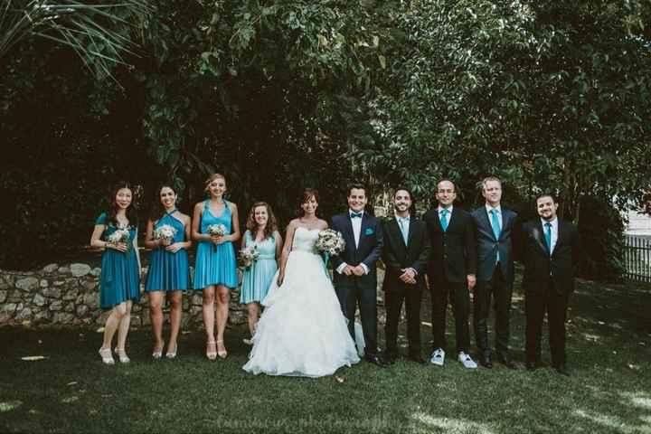Casamento sem damas de honor. porquê? - 1