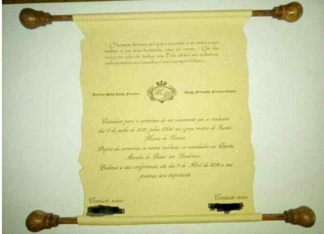 Convite pergaminho 3