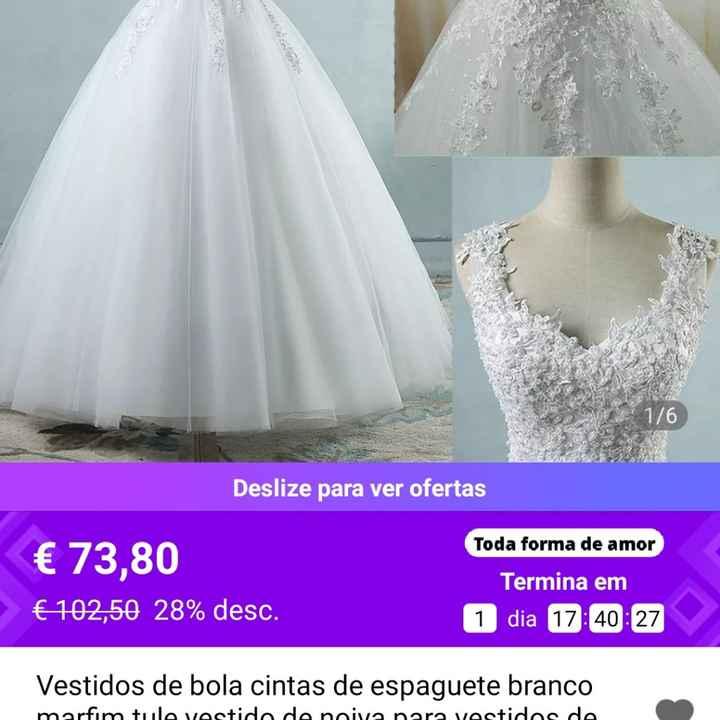 Vestidos de noiva baratos - 2