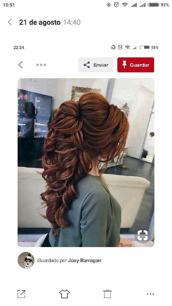 Detalhes de cabelo (sem véu) - 1