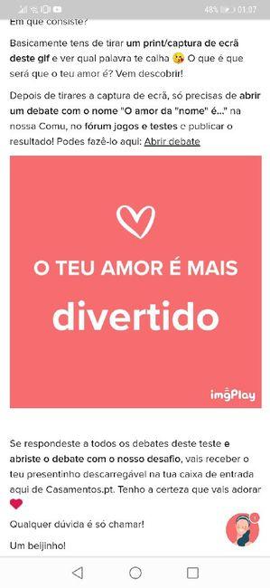 O teu amor é mais.... DESAFIO! 19