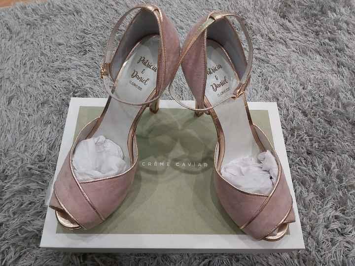 Sapatos dia d - 1