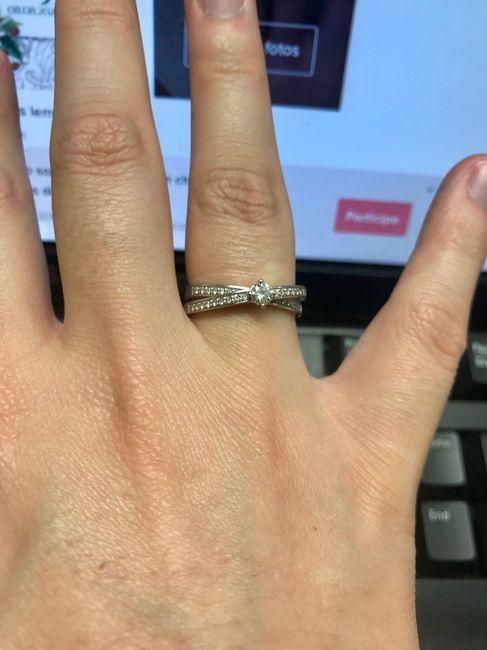 Boa noite :) Adorava ver os vossos anéis de noivado :) Quem quer partilhar? 5