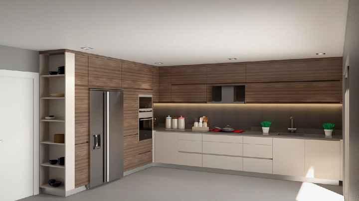 Projeto sala e cozinha 😍 - 1