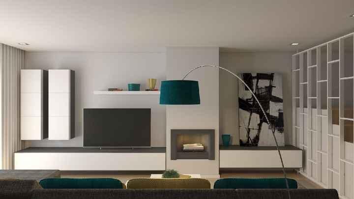 Projeto sala e cozinha 😍 - 5