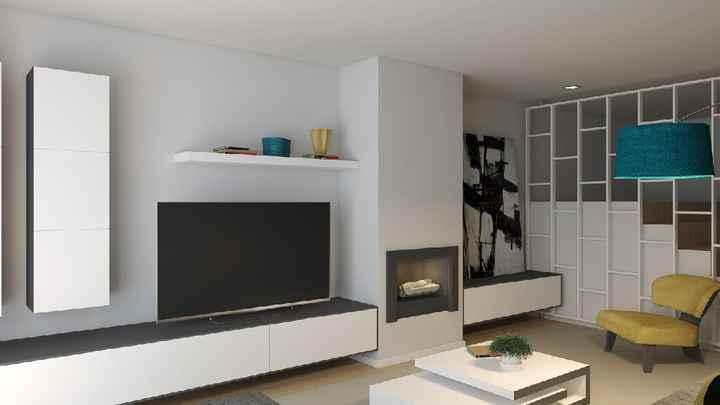 Projeto sala e cozinha 😍 - 8