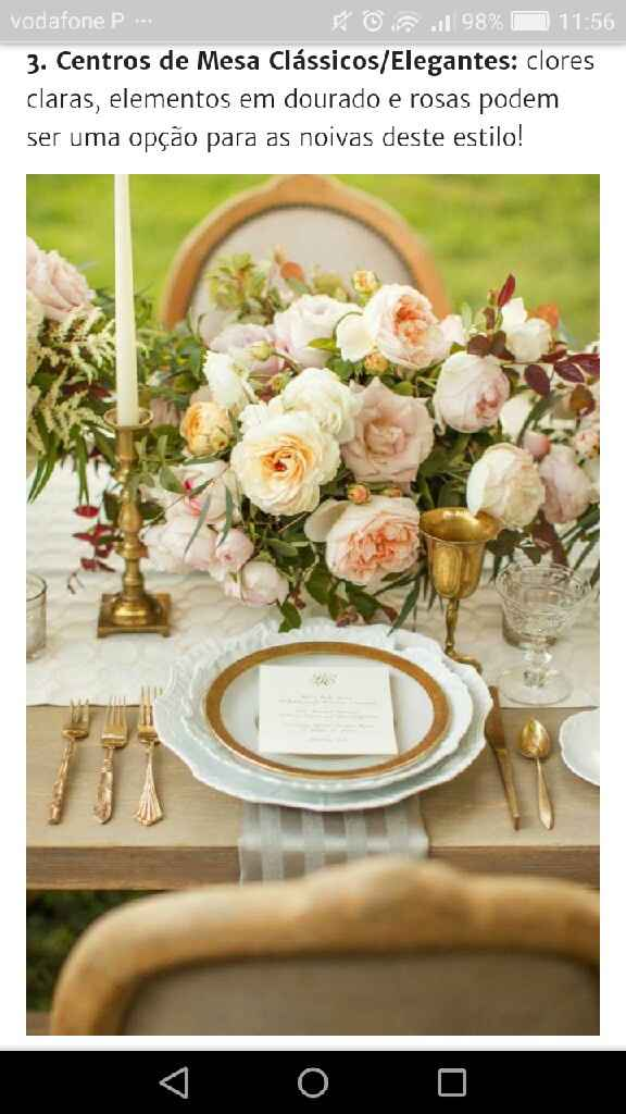 o meu casamento será estilo Classico/elegante - 4