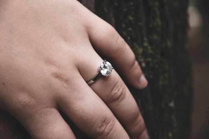 Anéis de noivado - 1