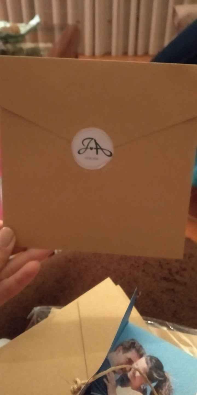 Traseira do Envelope