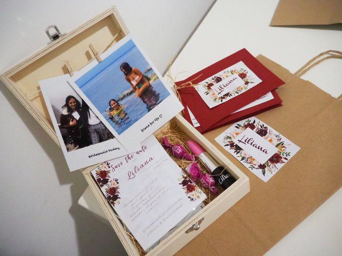 Convites damas + padrinhos e lembranças 7