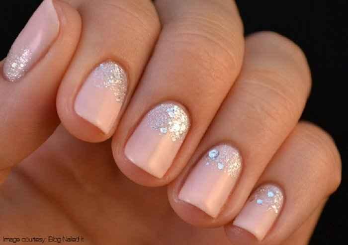 Decoração de unhas para noivas - 1
