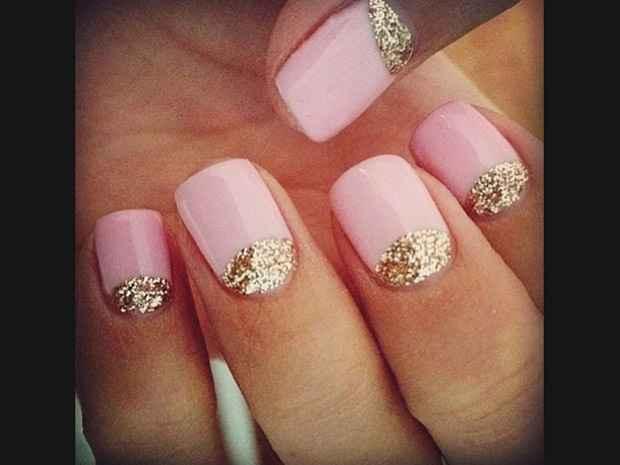 Decoração de unhas para noivas - 2
