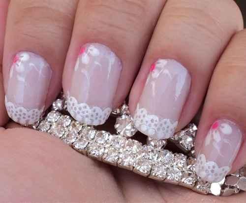 Decoração de unhas para noivas - 4