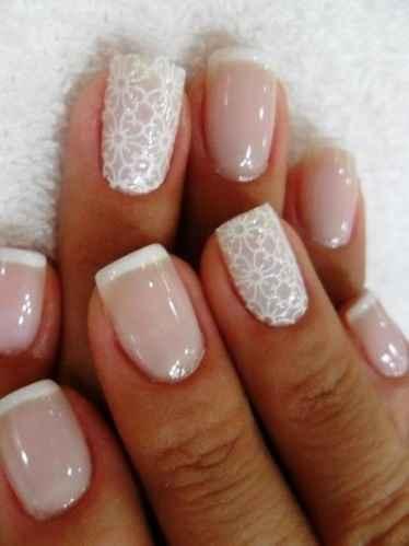 Decoração de unhas para noivas - 6