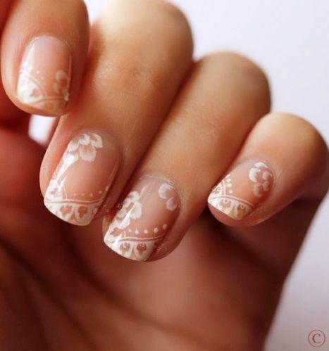 Decoração de unhas para noivas - 5