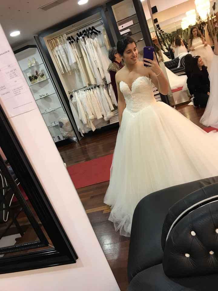 2 prova do vestido ❤️ - 1
