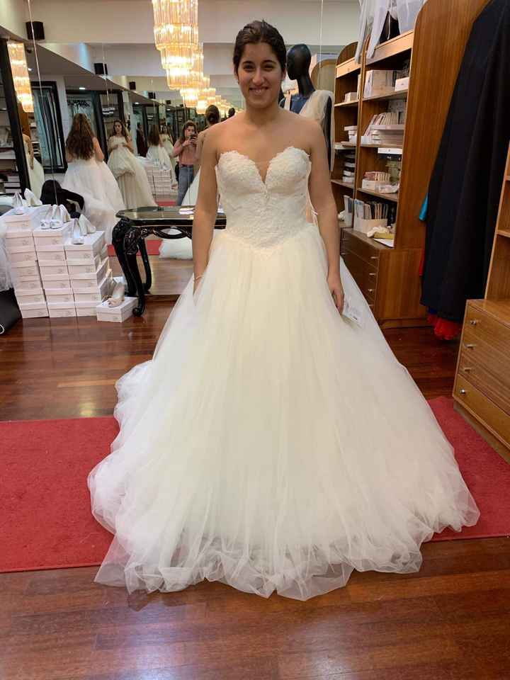 2 prova do vestido ❤️ - 3