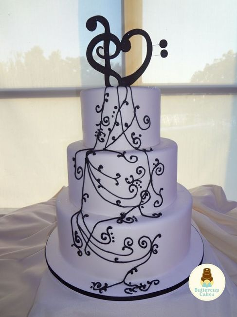 music wedding cake tema musica ideias 17668