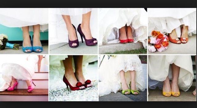 Sapatos de noiva diferentes :) - 1