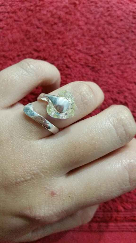 Anel noivado - 1
