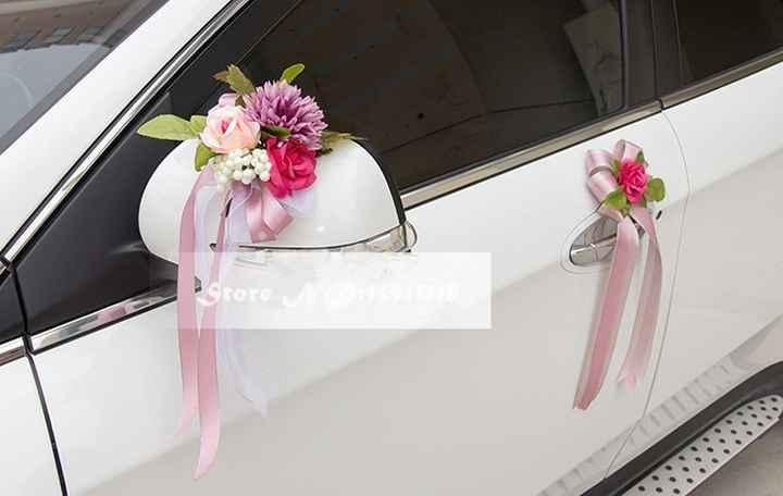 Decoração carro noiva 2