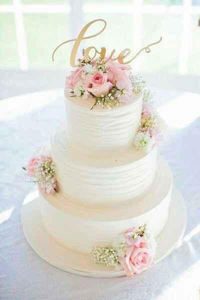 Casamento estilo clássico - bolo - 1