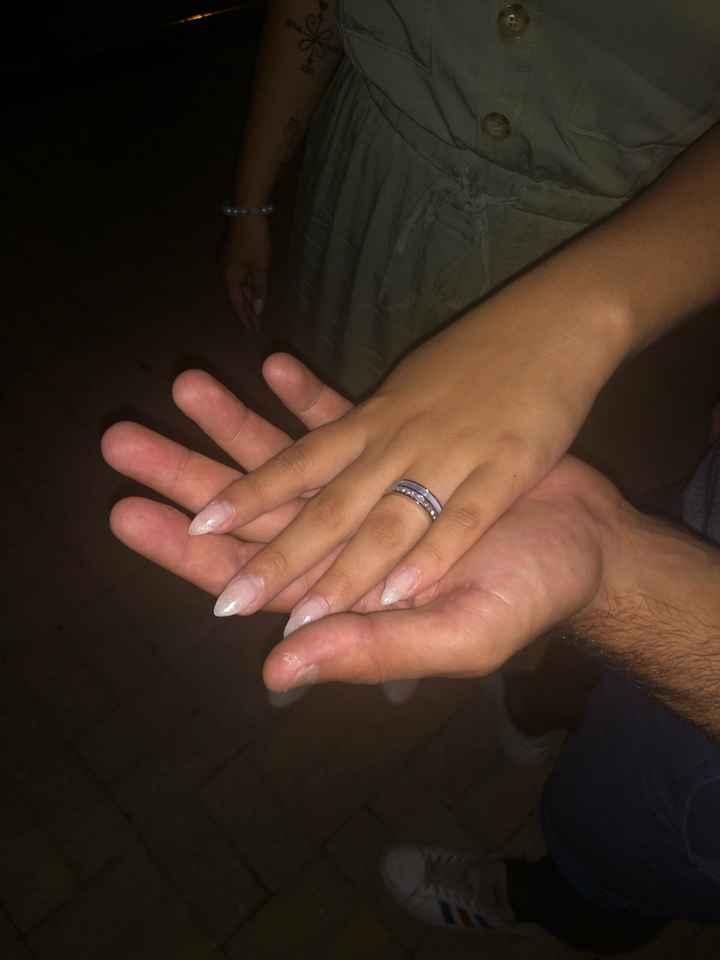 o meu anel de noivado 💍 - 1