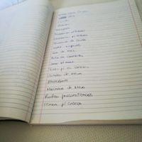 Lista de coisas...o que é preciso para organizar o casamento?! - 1