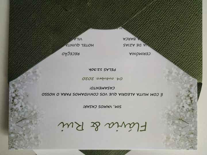 Convites terminados! - 3