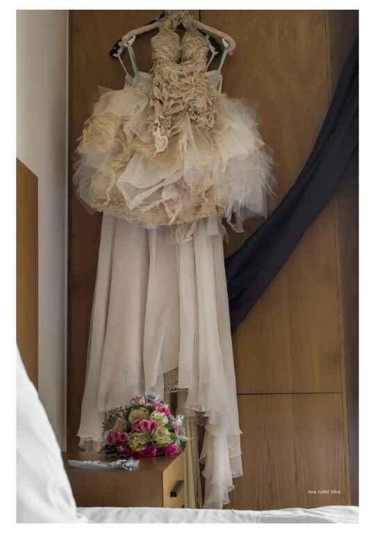O meu vestido, véu e bouquet! - 3