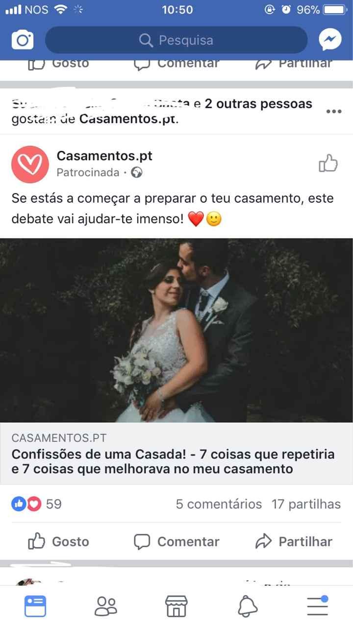 Feed notícias Facebook e a nossa casadinha - 1