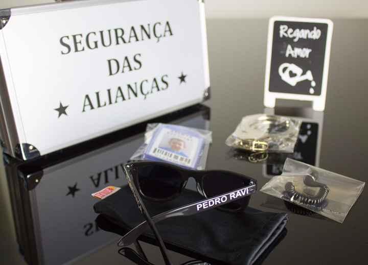 Malinha do segurança das alianças - 1