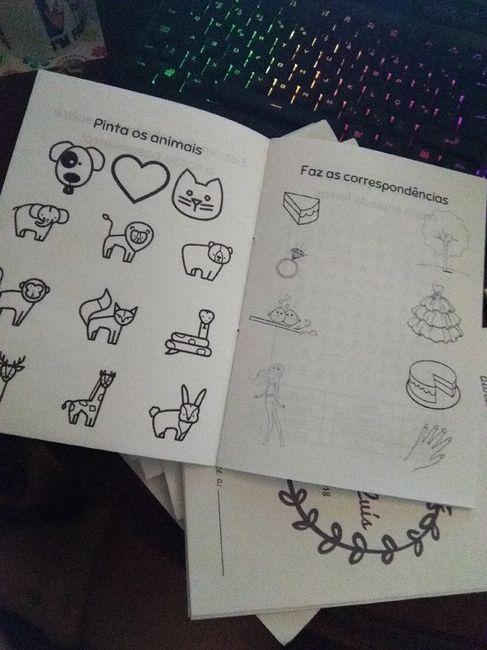 Livro atividades para crianças 3