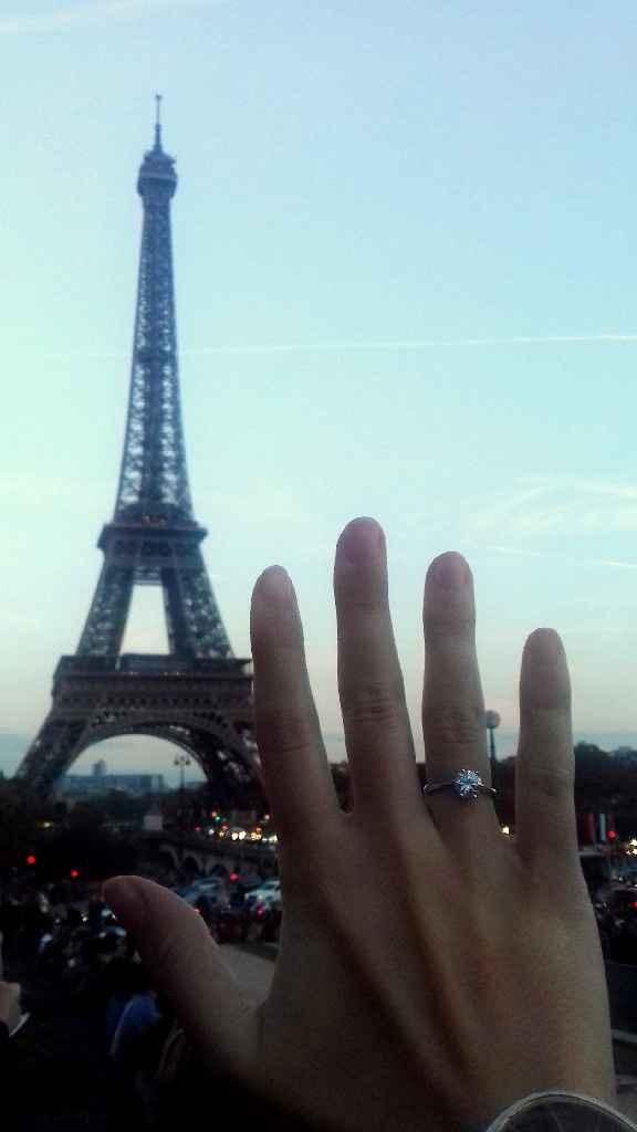 Pedido de casamento, e o vosso? - 1