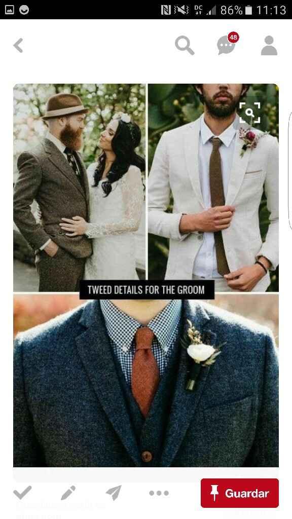O fato do noivo e o vestido da noiva - 1