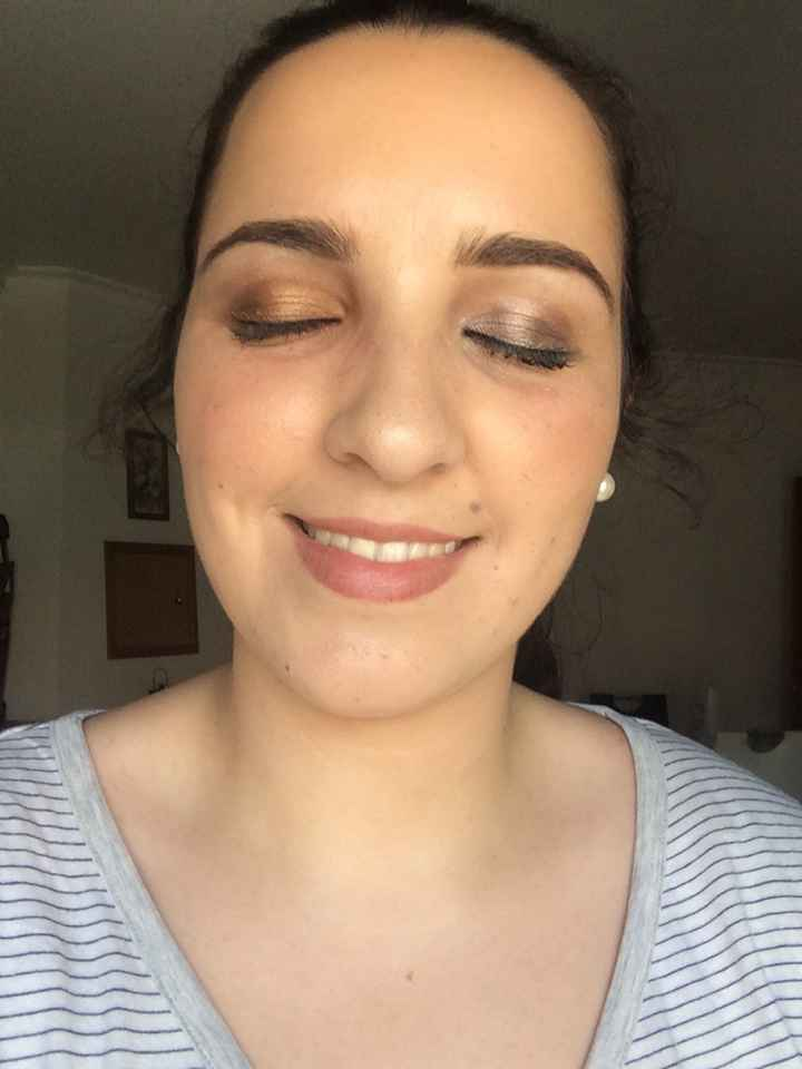 Prova penteado+makeup - 2