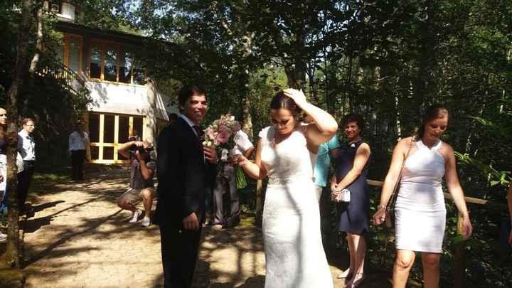 Casados de fresco :) - 2