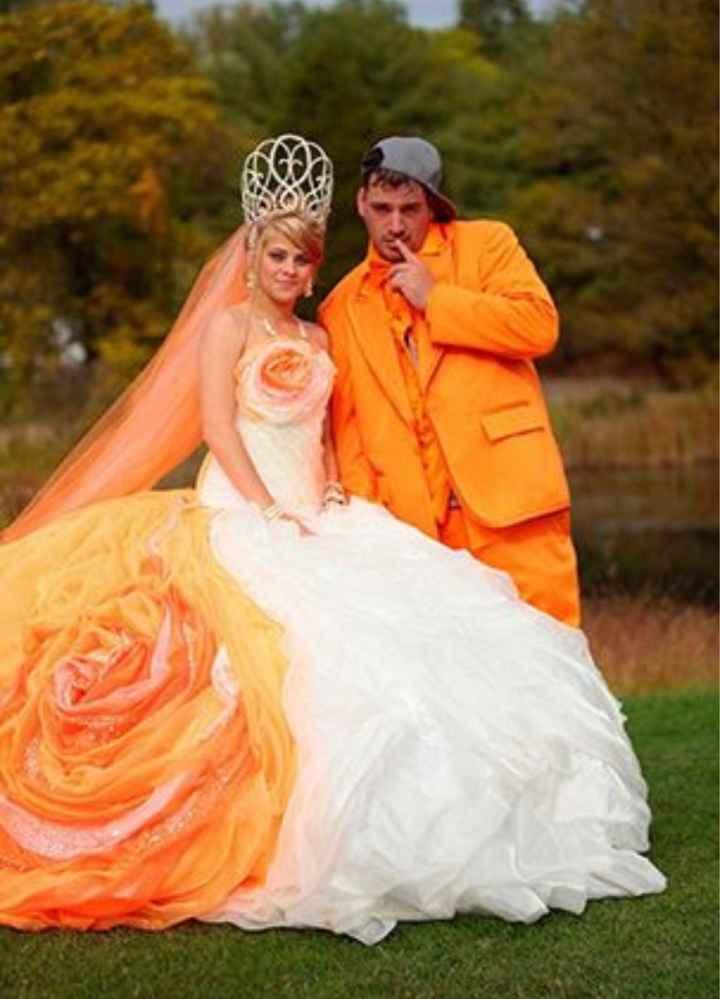 Vestidos de noiva estranhos - 2