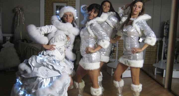 Vestidos de noiva estranhos - 5