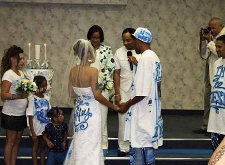 Vestidos de noiva estranhos - 10