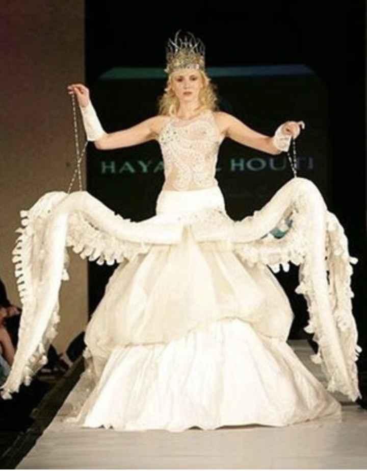 Vestidos de noiva estranhos - 11