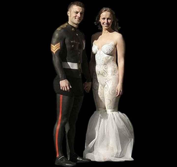 Vestidos de noiva estranhos - 12
