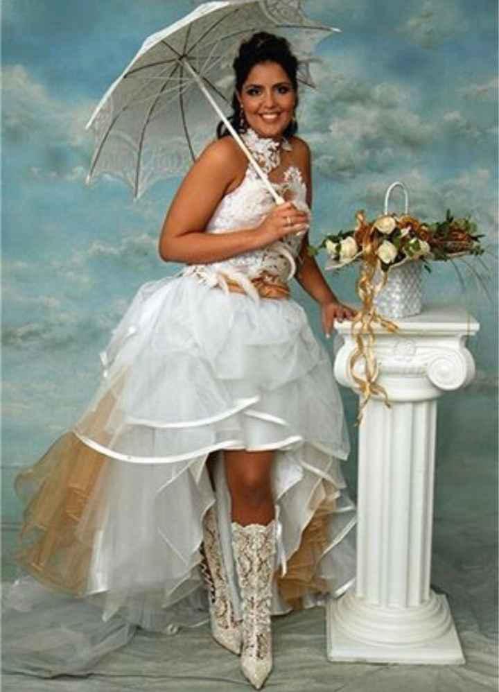 Vestidos de noiva estranhos - 13