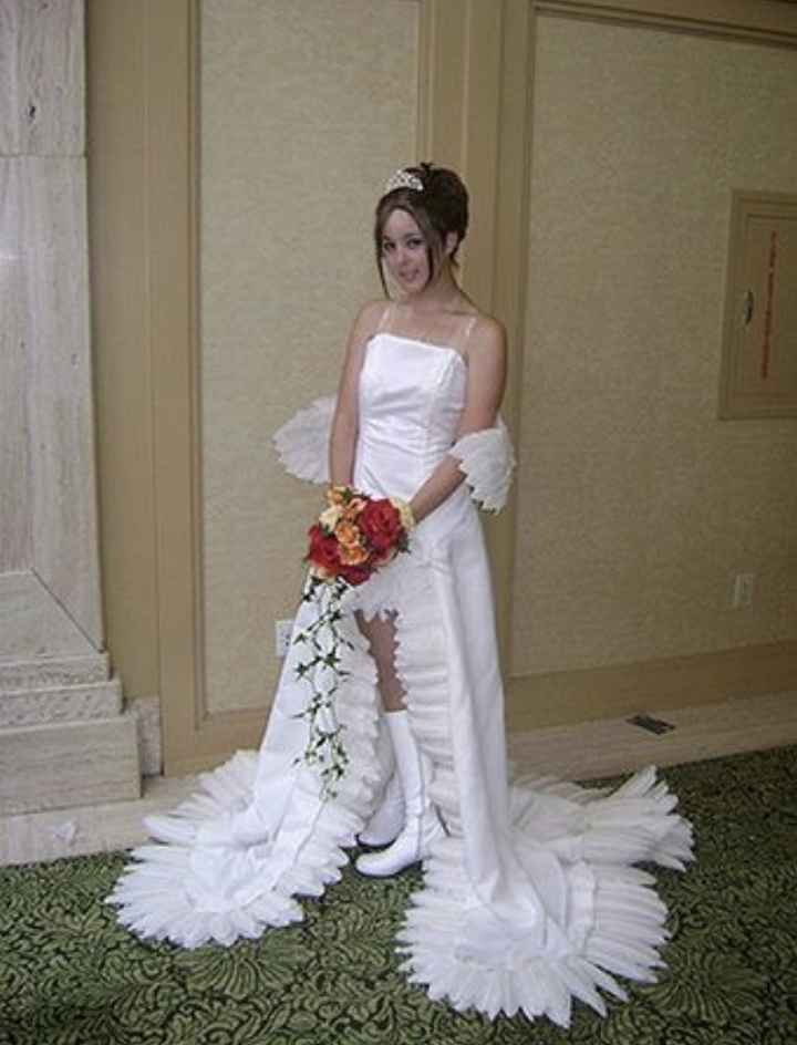 Vestidos de noiva estranhos - 14