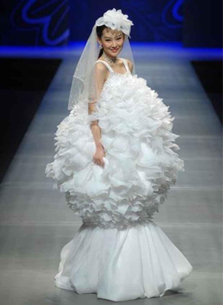 Vestidos de noiva estranhos - 16
